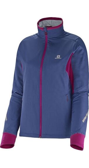 Salomon W's Escape Jkt Abyss blue/Mystic purple